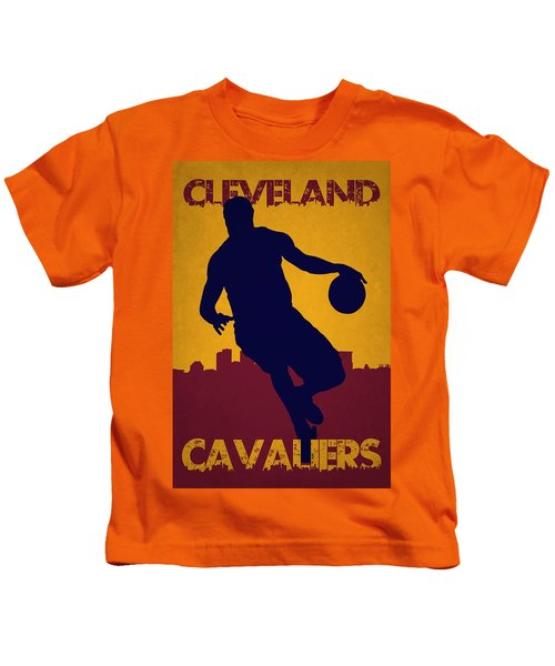 Cleveland Cavaliers Lebron James Kids T-Shirt