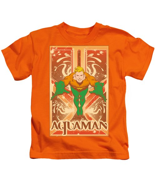 Dc - Aquaman Kids T-Shirt