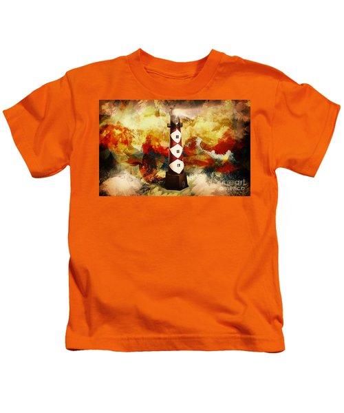 Fire On Lighthouse Hill Kids T-Shirt