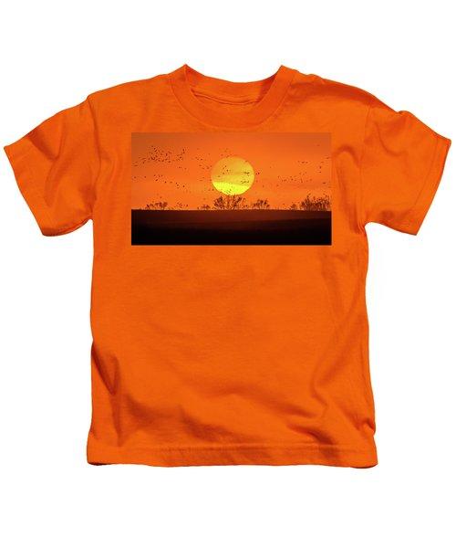 March 8, 2017 - Grand Island, Nebraska Kids T-Shirt