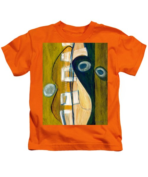 Portrait Of A Humble Man Kids T-Shirt