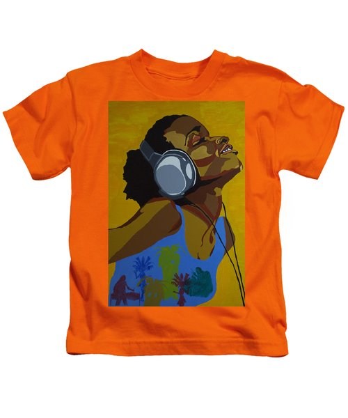 Rhythms In The Sun Kids T-Shirt