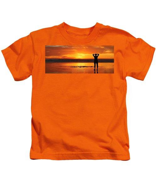 Seaside Reflections  Kids T-Shirt