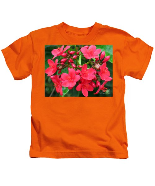 Lovely Spring Flowers Kids T-Shirt