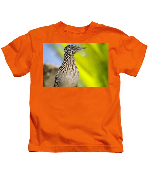 The Roadrunner  Kids T-Shirt by Saija  Lehtonen