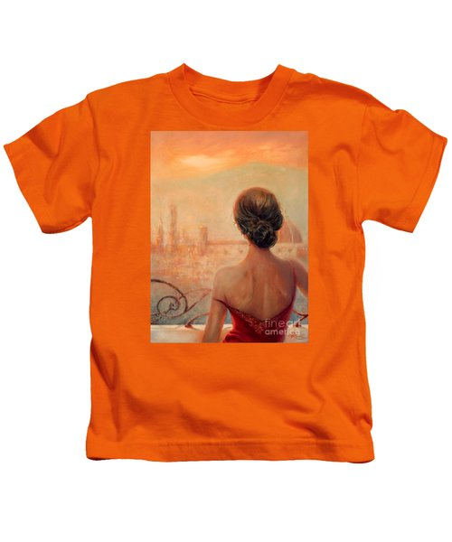 Visions Of Florence Kids T-Shirt