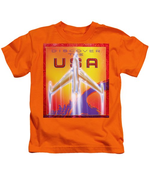 Discover The Usa Kids T-Shirt