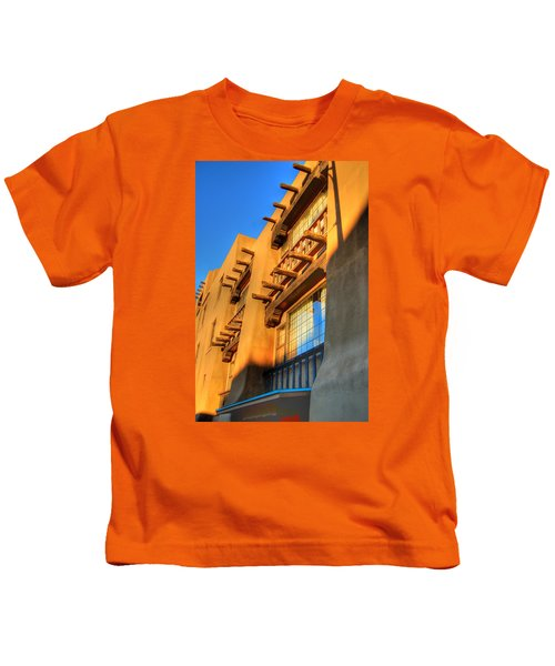 Downtown Santa Fe Kids T-Shirt