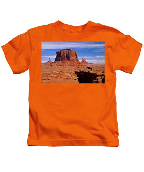 John Ford Point Monument Valley Kids T-Shirt