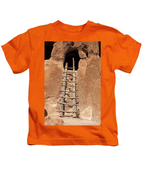 Talus House Front Door Bandelier National Monument Kids T-Shirt