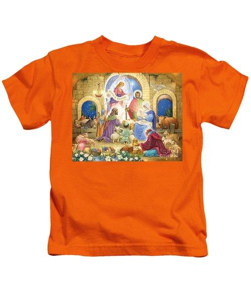 A Glorious Nativity Kids T-Shirt