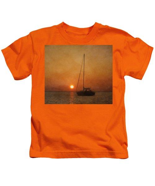 A Ship In The Night Kids T-Shirt