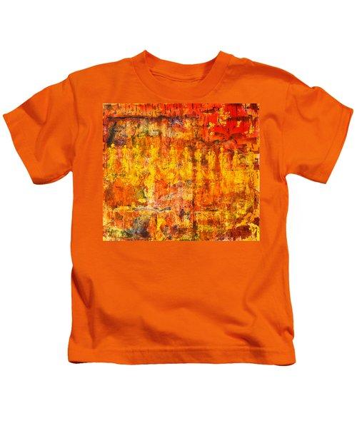 A Sunset Of Angels Kids T-Shirt