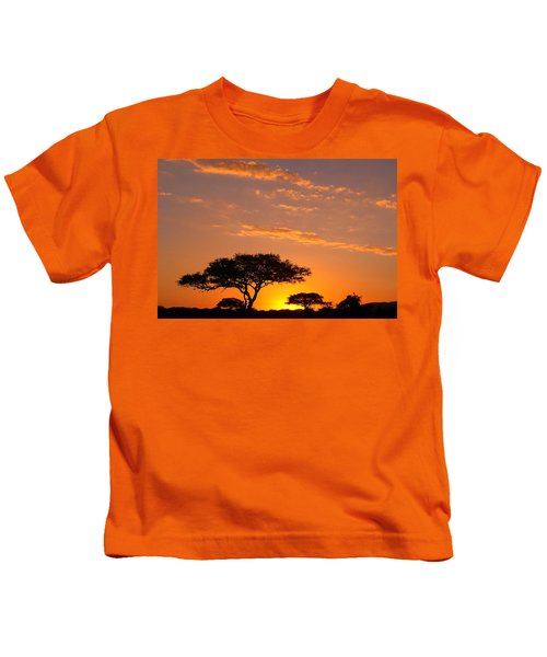 African Sunset Kids T-Shirt