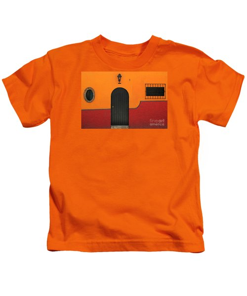 Ajijic Door No.4 Kids T-Shirt