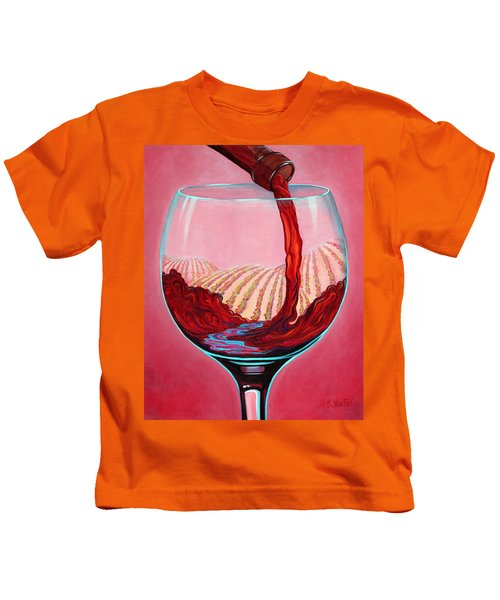 ...and Let There Be Wine Kids T-Shirt