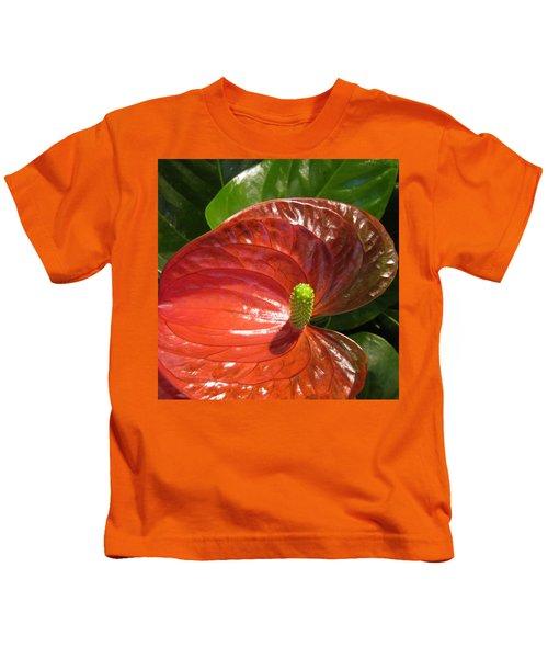 Anthurium Kids T-Shirt
