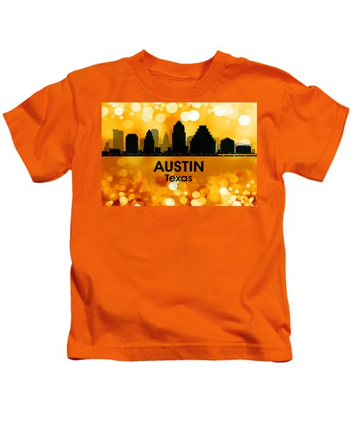 Austin Tx 3 Kids T-Shirt