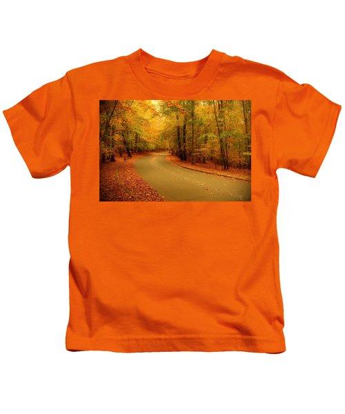 Autumn Serenity - Holmdel Park  Kids T-Shirt