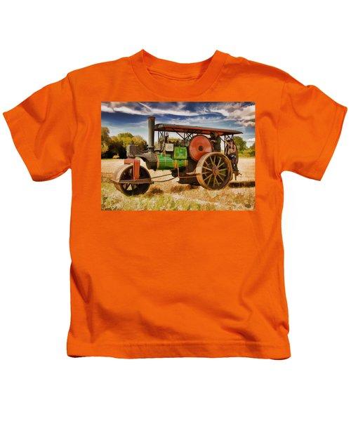 Aveling Porter Road Roller Kids T-Shirt