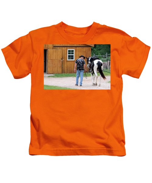 Back To The Barn Kids T-Shirt