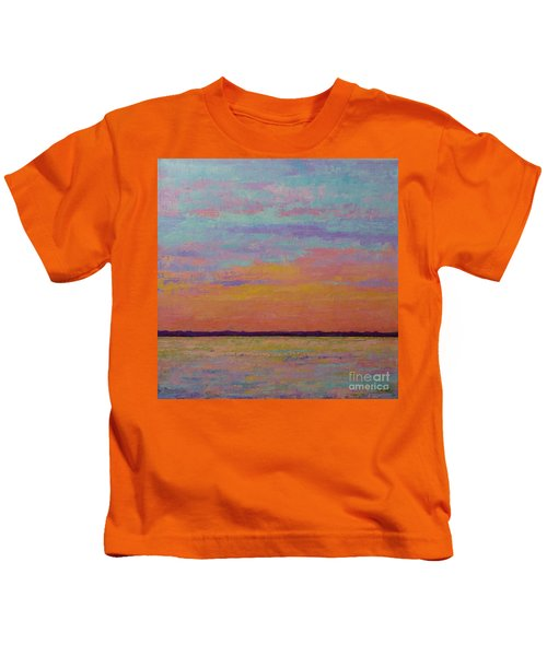 Bay Sunset Kids T-Shirt
