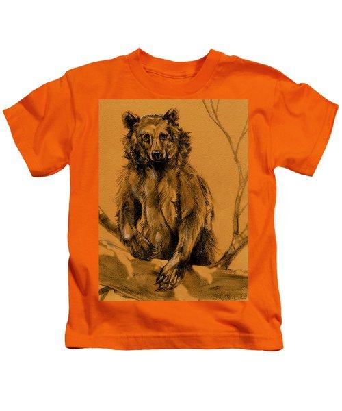 Bear Sketch Kids T-Shirt