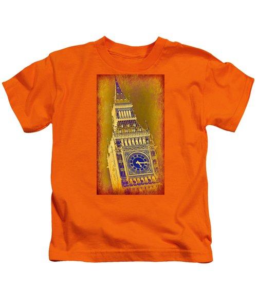 Big Ben 3 Kids T-Shirt by Stephen Stookey