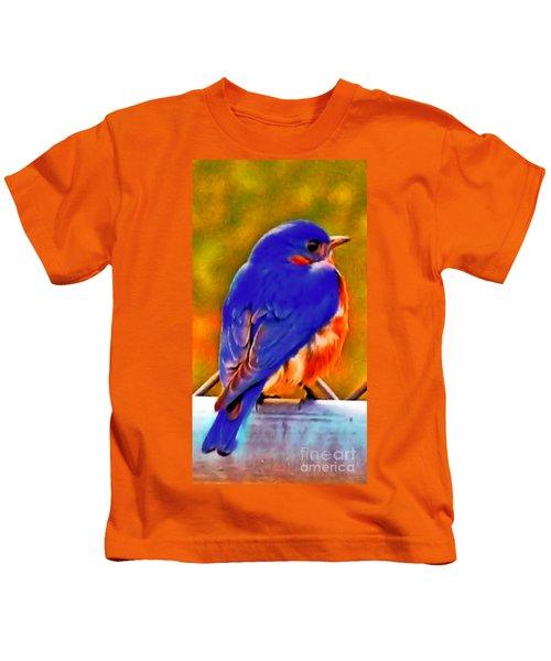 Blue Beauty 2013 Kids T-Shirt