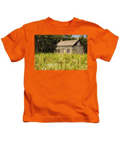 Cabin In The Prairie Kids T-Shirt