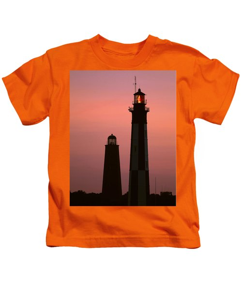 Cape Henry Lighthouses  Kids T-Shirt