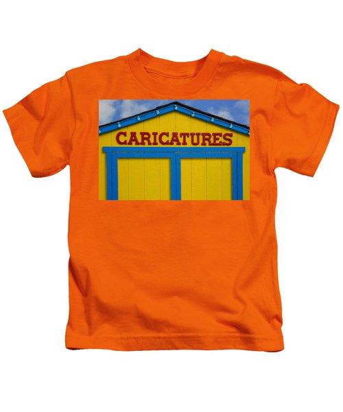 Caricatures Kids T-Shirt