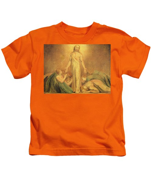 Christ Appearing To The Apostles After The Resurrection Kids T-Shirt