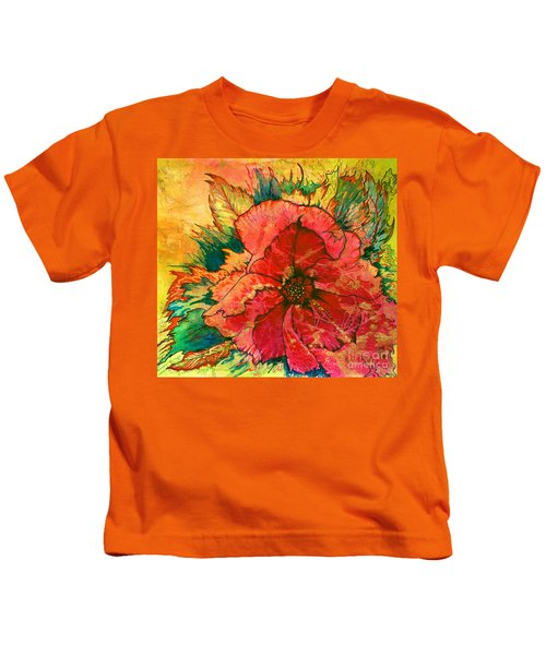 Christmas Flower Kids T-Shirt