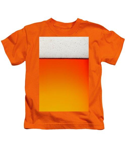 Clean Beer Background Kids T-Shirt