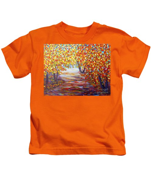 Colorful Autumn Kids T-Shirt