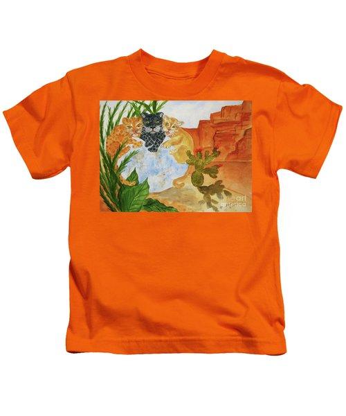 Cousins - Big Cats Kids T-Shirt