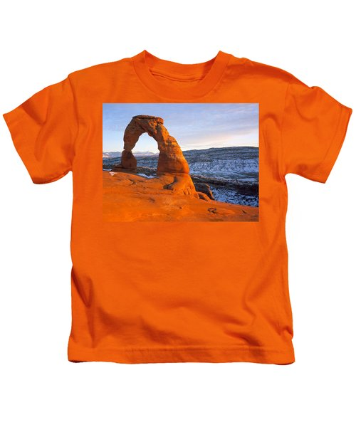 Delicate Arch Kids T-Shirt