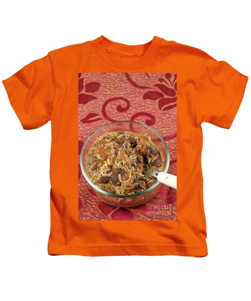 Delicious Chicken Chili Kids T-Shirt