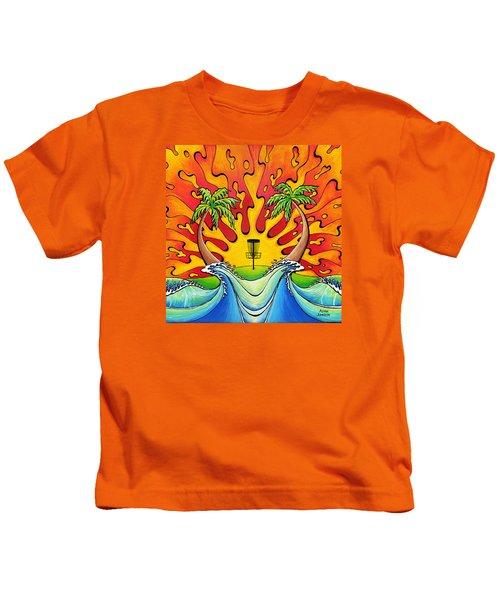 Disc Golfers Paradise Kids T-Shirt