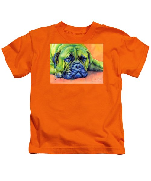 Dog Tired Kids T-Shirt