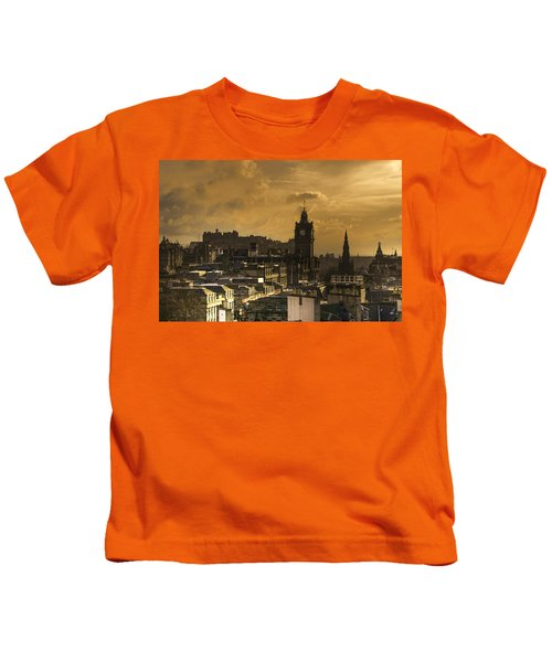 Edinburgh Dusk Kids T-Shirt