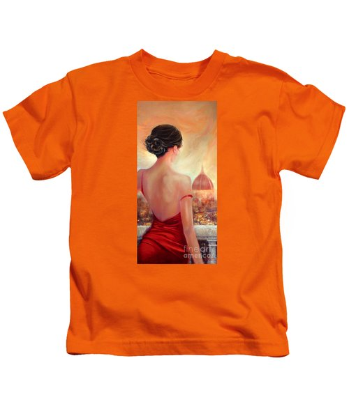 Evening In Florence Kids T-Shirt