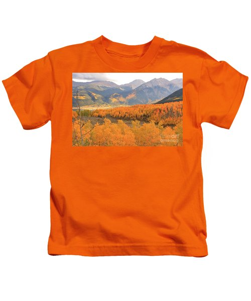 Fall Colors 3 Kids T-Shirt