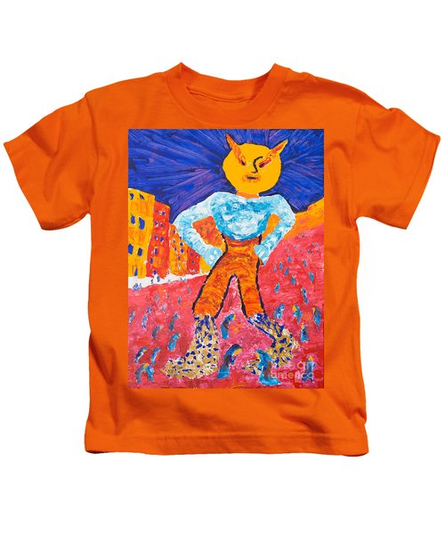 Feet Of Clay Kids T-Shirt