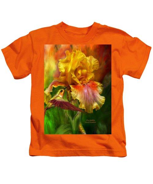 Fire Goddess Kids T-Shirt