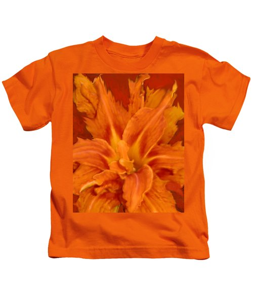 Fire Lily Kids T-Shirt