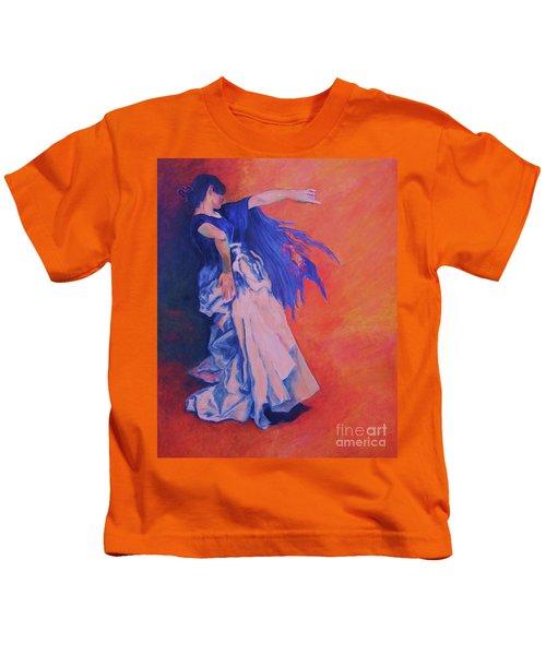 Flamenco-john Singer-sargent Kids T-Shirt