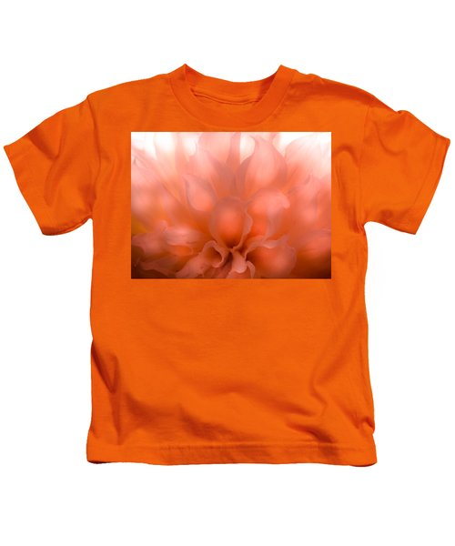Flaming Dahlia Kids T-Shirt