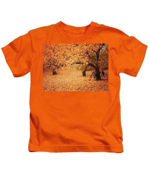 For Two - Autumn - Central Park Kids T-Shirt